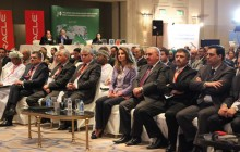 Her Majesty Queen Rania Al Abdullah attends the opening day of the Arab Education Summit in Amman, Jordan