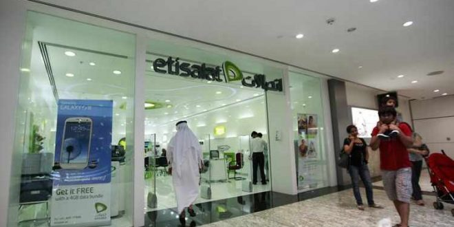 UAE's Etisalat Q2 profit up on lower capital expenditure, more subscribers