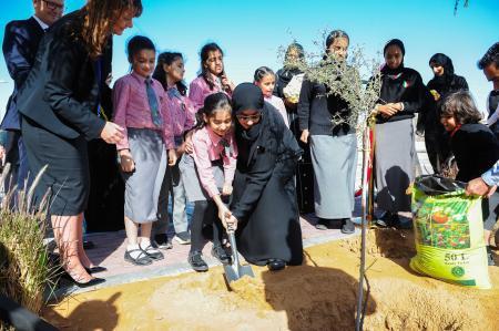 Sheikha Shamsa bint Hashar Al Maktoum visits GEMS Al Barsha National School Dubai