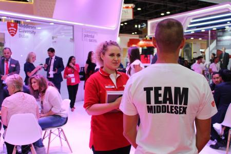 What will Middlesex University Dubai bring to the Gulf Education and Training Exhibition (GETEX)