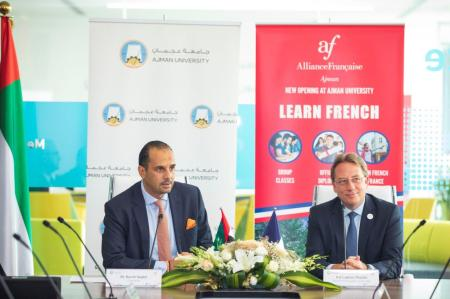 Alliance Française open in Ajman University