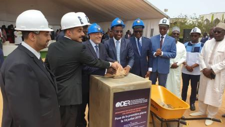 KFED Chairman lays foundation stone for 'Mohamed bin Zayed Centre for Innovation and Entrepreneurship' in Senegal